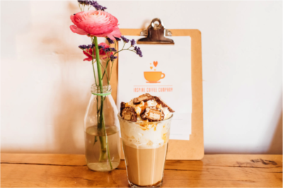 Inspire Coffee Company Latte Special Lion